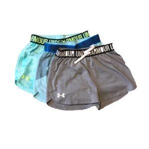 Girls' Bundle of UA Athletic Shorts